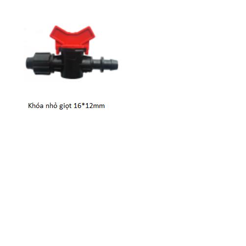 Khóa cho ống nhỏ giọt 16*12mm